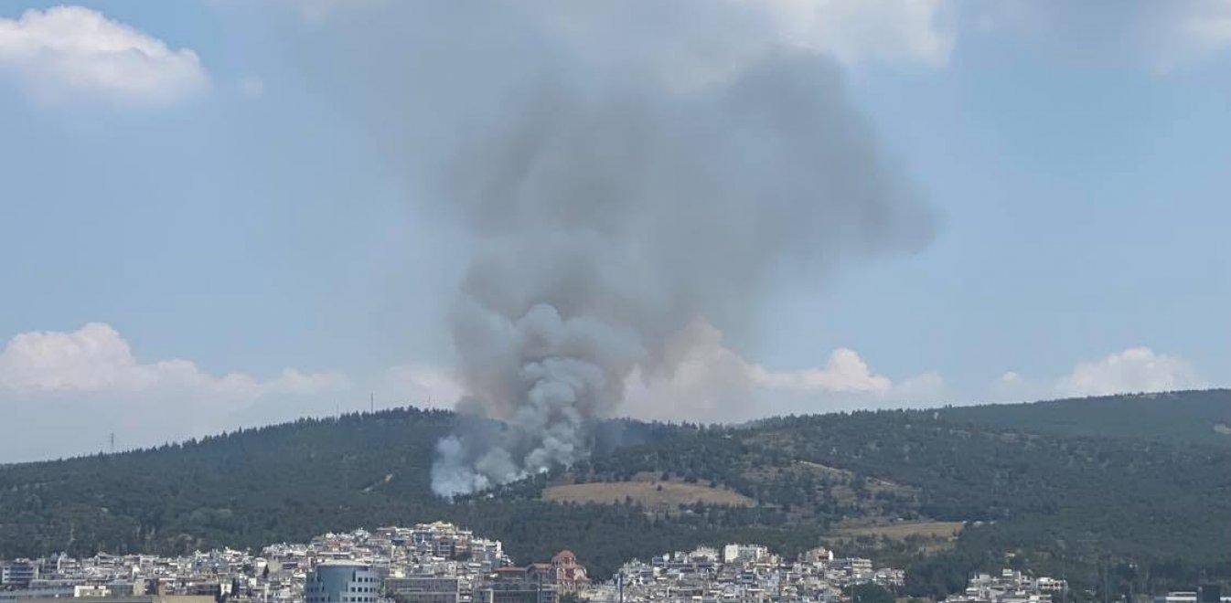 Θεσσαλονίκη: Φωτιά στο Σέιχ Σου