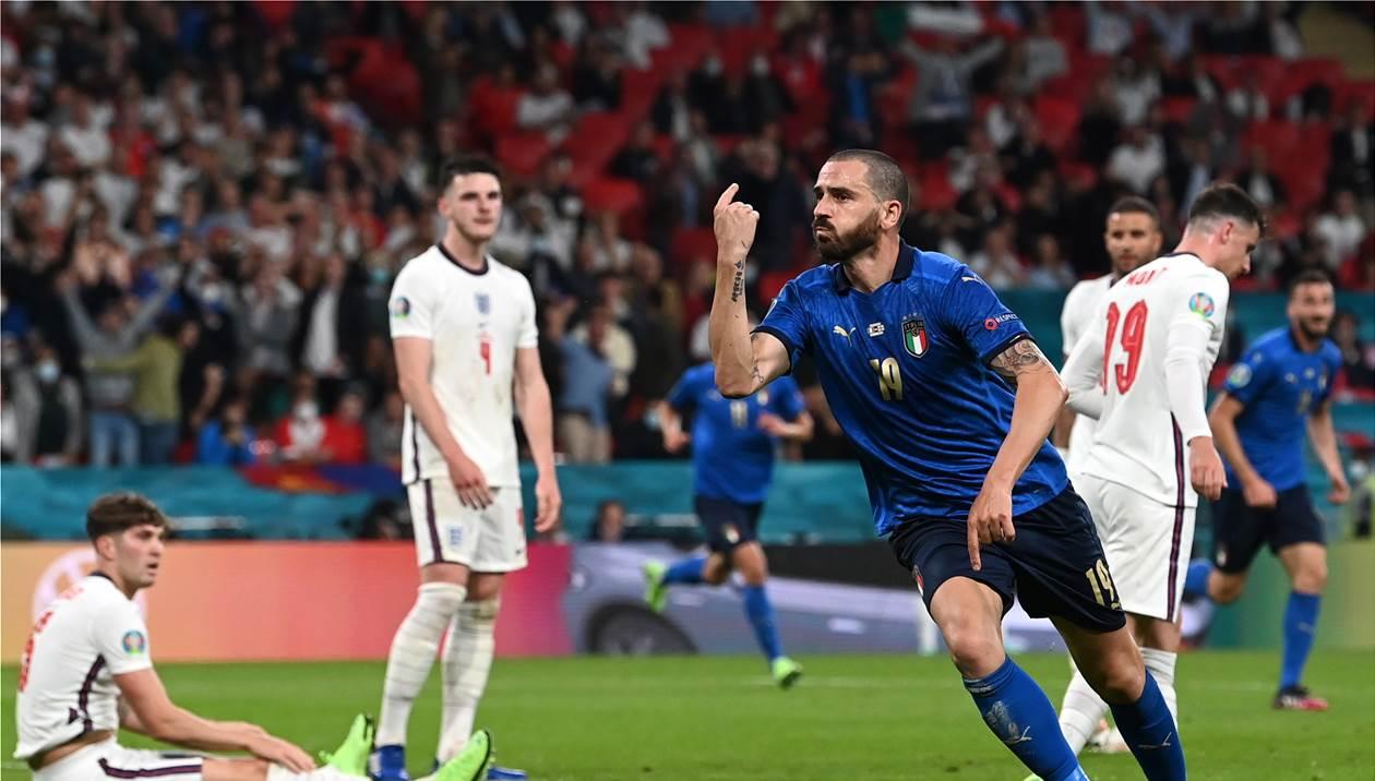 Πρωταθλήτρια Ευρώπης η Ιταλία μέσα στο «Γουέμπλεϊ»
