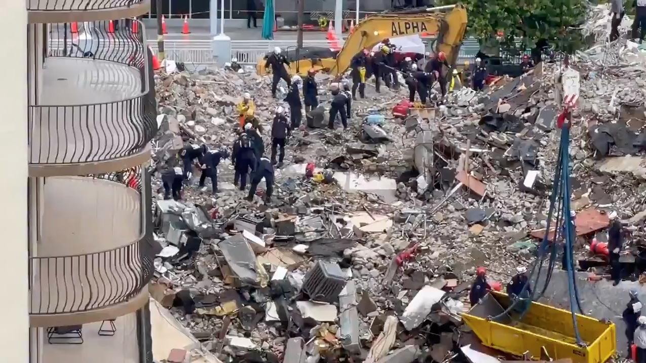Φλόριντα: Στους 64 οι νεκροί από την κατάρρευση πολυκατοικίας – Αγνοούνται 76 άνθρωποι