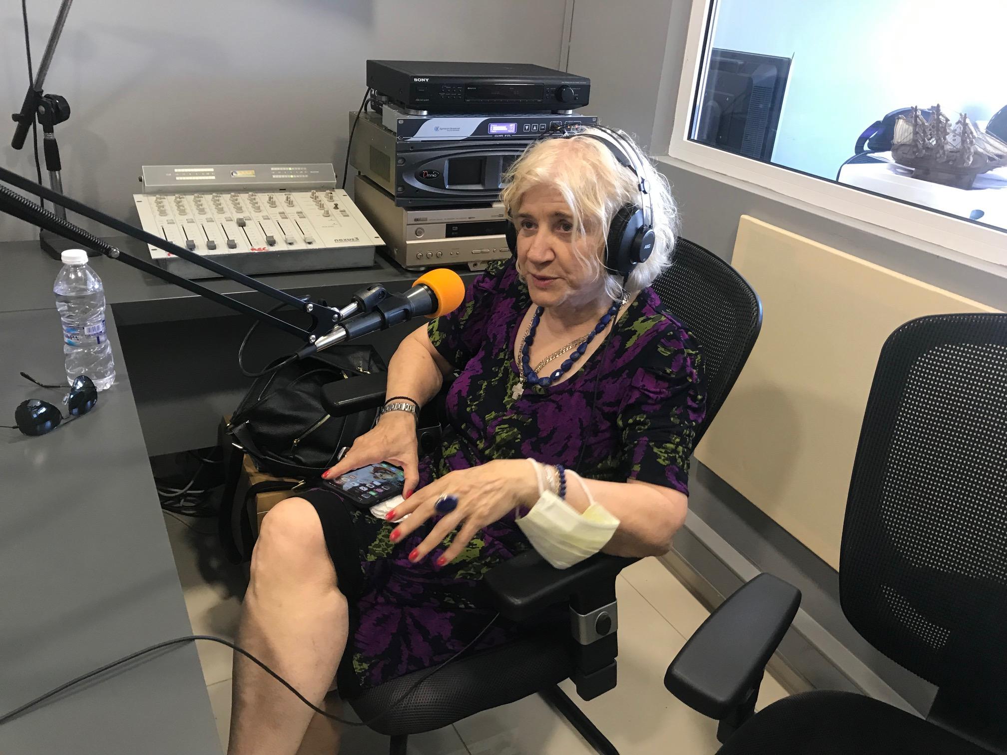 Η διεθνούς φήμης μελλοντολόγος Μαρία Παπαπέτρος μας επισκέφθηκε στον Υδρόγειο 106,9