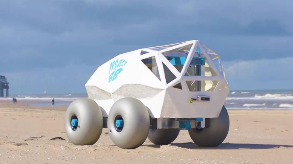 Αυτό το ρομπότ θα είχε πολύ δουλειά στις ελληνικές παραλίες (video)