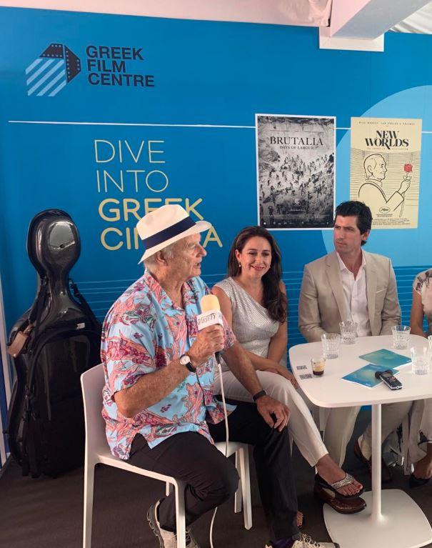 Κάννες 2021: Ο Μπιλ Μάρεϊ στο Ελληνικό Περίπτερο του φεστιβάλ