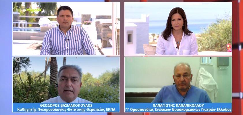 Βασιλακόπουλος: Μέχρι τέλος Αυγούστου μπορεί να έχει εμβολιαστεί το 70% του πληθυσμού