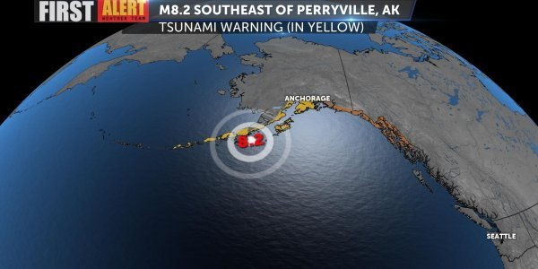 Σεισμός στην Αλάσκα: Βίντεο που κόβει την ανάσα από τα 8,2 Ρίχτερ
