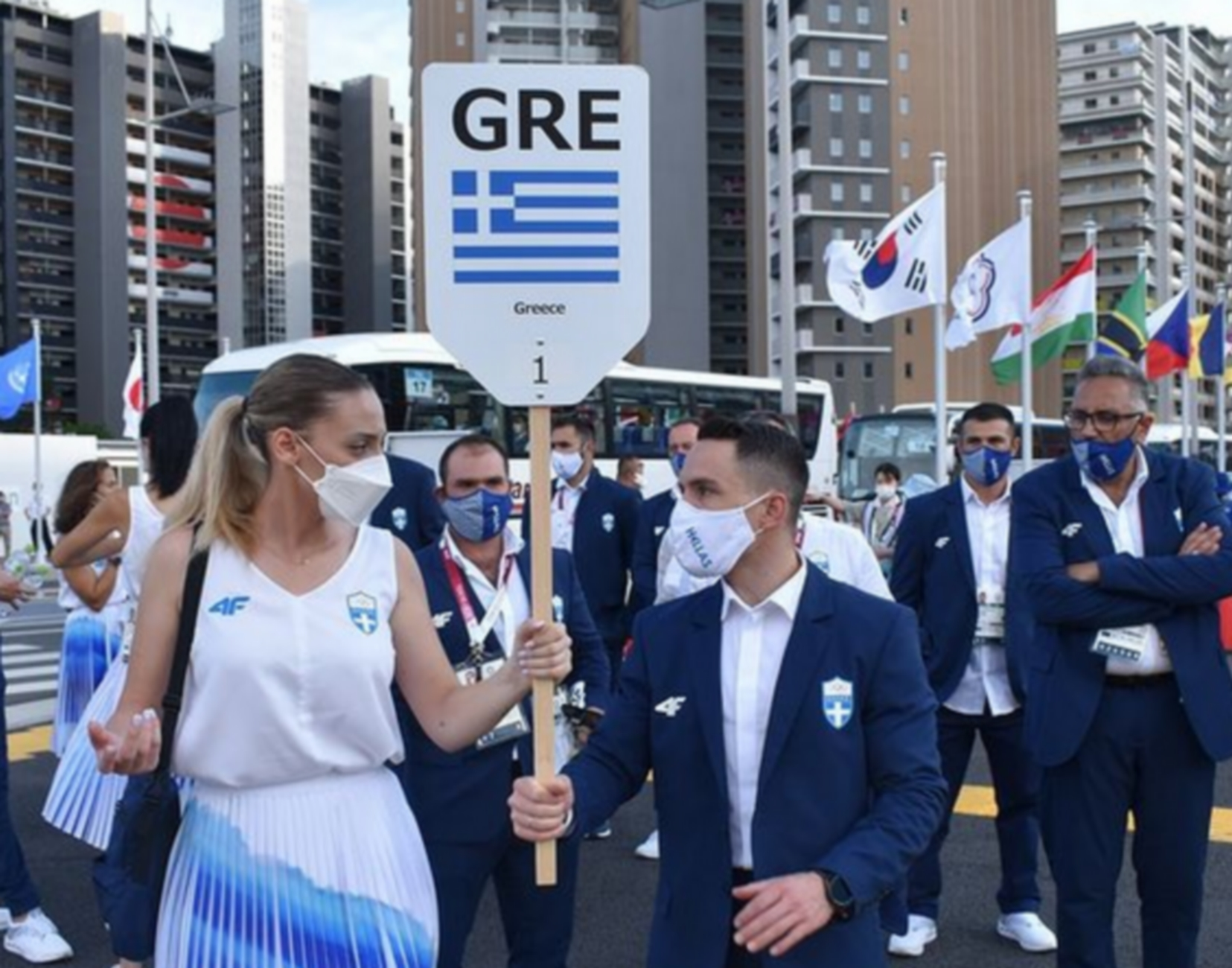 Τελετή έναρξης Ολυμπιακών Αγώνων: Έτοιμη η ελληνική αποστολή με Πετρούνια και Κορακάκη