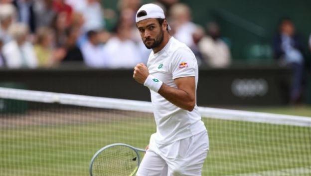 Ο Ρωμαίος Μπερετίνι στον τελικό του Wimbledon (vids)