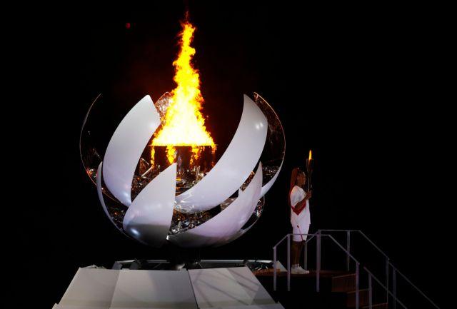Άναψε η Ολυμπιακή Φλόγα στο Τόκιο – Όλα όσα είδαμε στην Τελετή Έναρξης