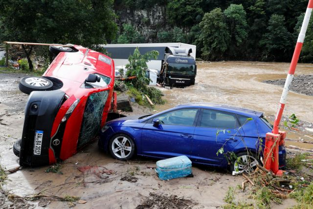 Γερμανία: Φονικές πλημμύρες – Τουλάχιστον 11 νεκροί και 70 αγνοούμενοι