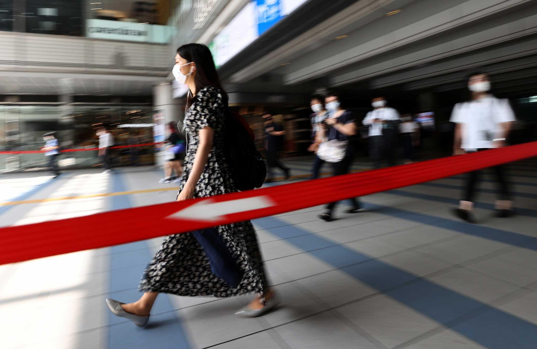 Ιαπωνία: Νέο ρεκόρ κρουσμάτων για δεύτερη συνεχόμενη μέρα στο Τόκιο με 3.177 μολύνσεις