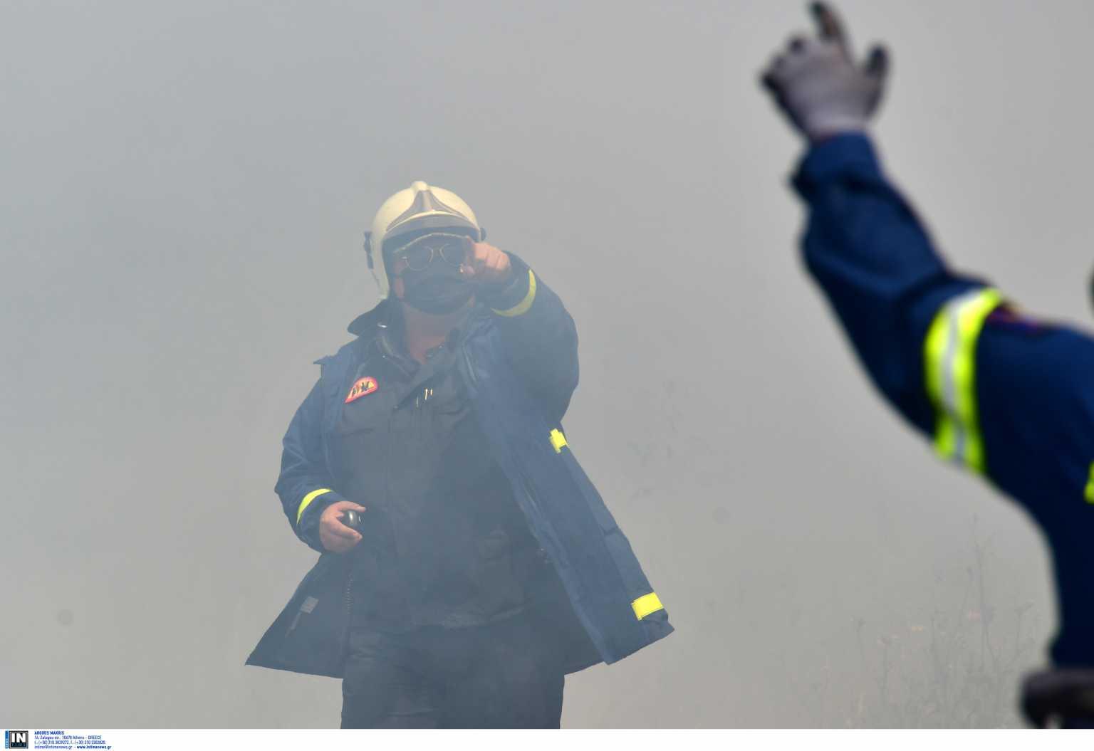 Φωτιά τώρα στο Πανόραμα της Βούλας – Από εδάφους και αέρος επιχειρεί η Πυροσβεστική