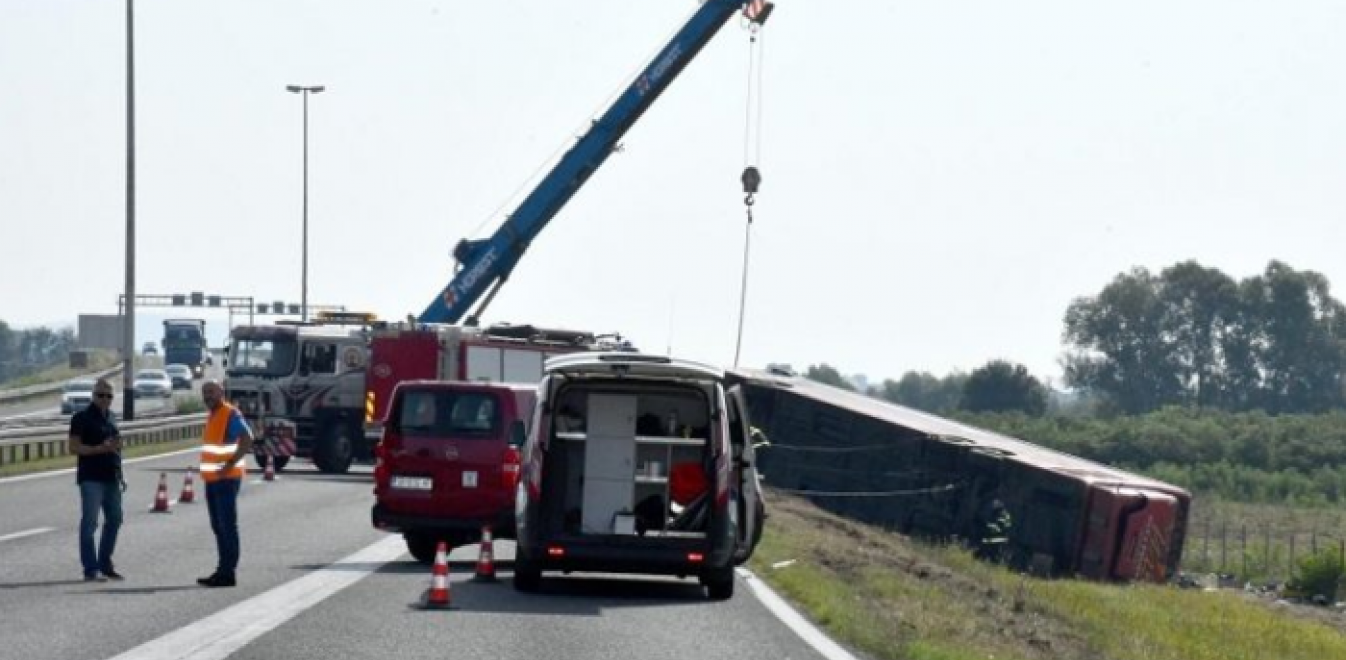 Τραγωδία στην Κροατία: Τουλάχιστον 10 νεκροί και δεκάδες τραυματίες σε δυστύχημα με λεωφορείο