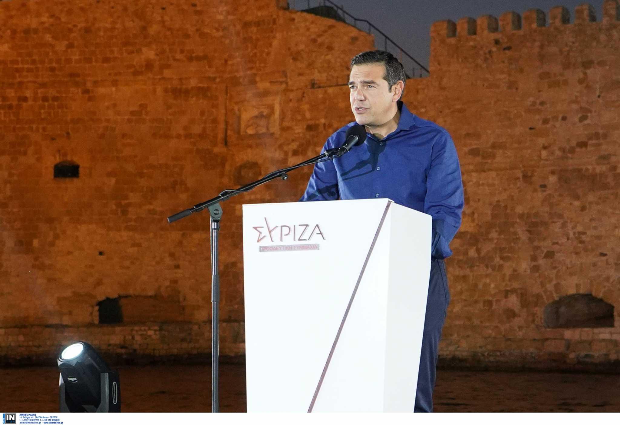 Αλέξης Τσίπρας: Η κυβέρνηση προωθεί σκληρή πολιτική εν μέσω πανδημίας