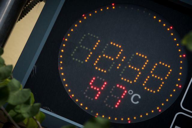 Νέο ρεκόρ με 47,1 βαθμούς Κελσίου – Σημερινός «πρωταθλητής» του καύσωνα ο Λαγκαδάς