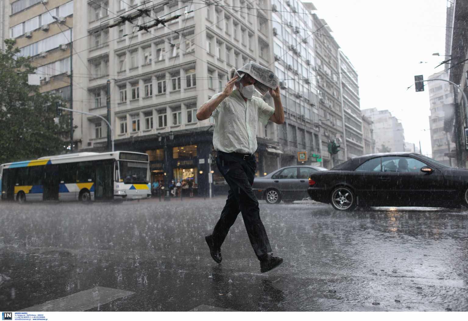 Καιρός αύριο: Βροχές την Παρασκευή (20/08)
