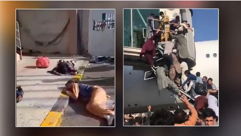 Αφγανιστάν: Πέντε νεκροί στο αεροδρόμιο της Καμπούλ – Χάος με πυροβολισμούς και ποδοπατήματα