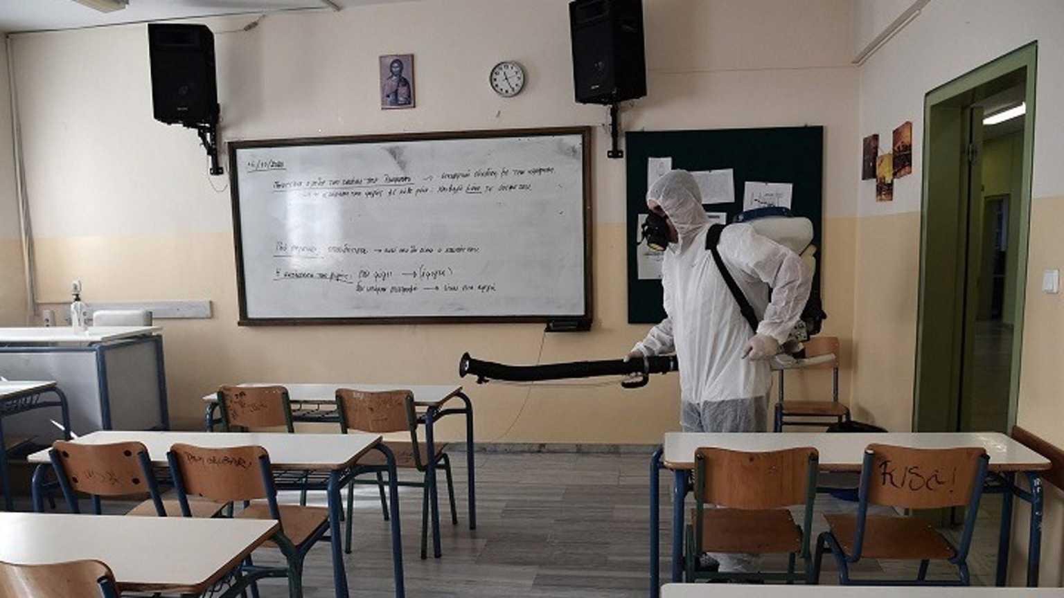 Αναστολή λειτουργίας όλων των σχολείων του Δήμου Ηρακλείου