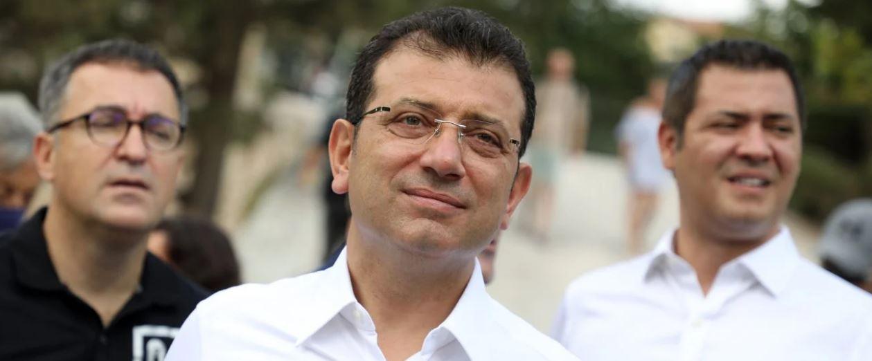 Iμάμογλου «καρφώνει» Ερντογάν από την Αθήνα