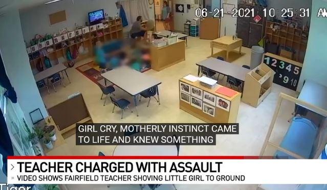 Εξοργιστικό βίντεο από παιδικό σταθμό: Δάσκαλος σπρώχνει βίαια 4χρονη και τη ρίχνει κάτω – «Φύγε από εδώ!»