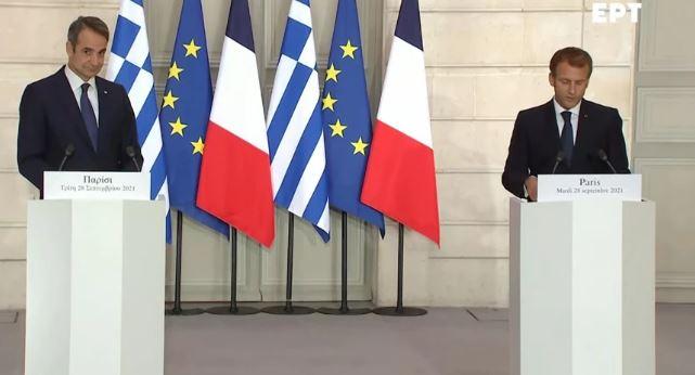 Μητσοτάκης – Μακρόν: Η συμφωνία για άμεση στρατιωτική συνδρομή και 3+1 υπερσύγχρονες Belhara