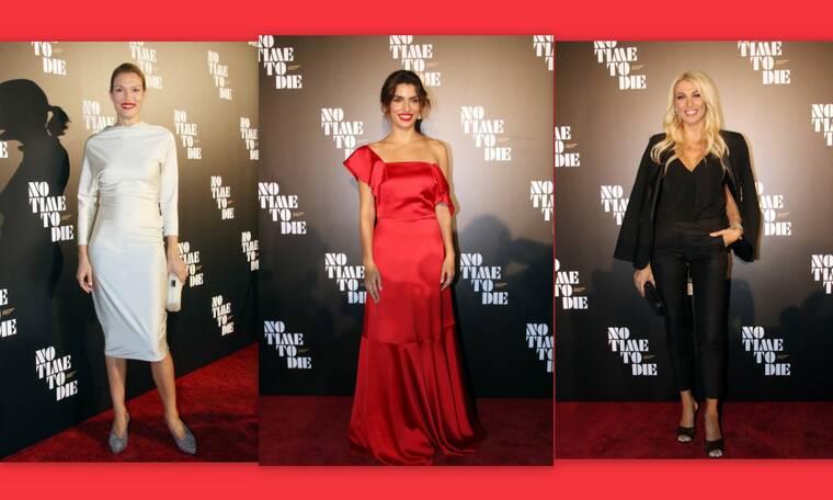 Οι λαμπερές παρουσίες στην επίσημη προβολή της ταινίας James Bond – Θα ζηλέψεις τις εμφανίσεις τους