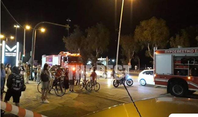 Τραγωδία στην Πάτρα: Νεκρός ποδηλάτης που παρασύρθηκε από αυτοκίνητο – Εικόνες από το τροχαίο