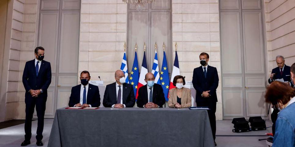 Γαλλική ασπίδα προστασίας στην Ελλάδα σε περίπτωση κρίσης με την Τουρκία -Τι λέει το άρθρο 2 της συμφωνίας