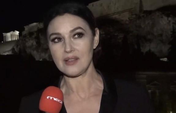 Μόνικα Μπελούτσι στο MEGA – Στην Ελλάδα νιώθω σαν στο σπίτι μου – Μου αρέσει η σαλάτα, ο μουσακάς και το ψάρι