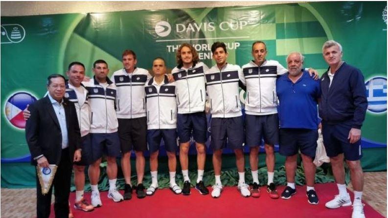 Davis Cup: Αναχωρεί για την Κρήτη η εθνική ομάδα για τους αγώνες με Λιθουανία