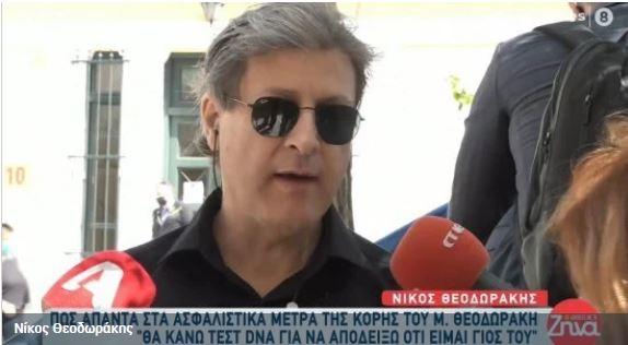 Νίκος Θεοδωράκης: Θα αποδείξω με DNA ότι είμαι γιος του Μίκη Θεοδωράκη – Ασφαλιστικά μέτρα από Μαργαρίτα