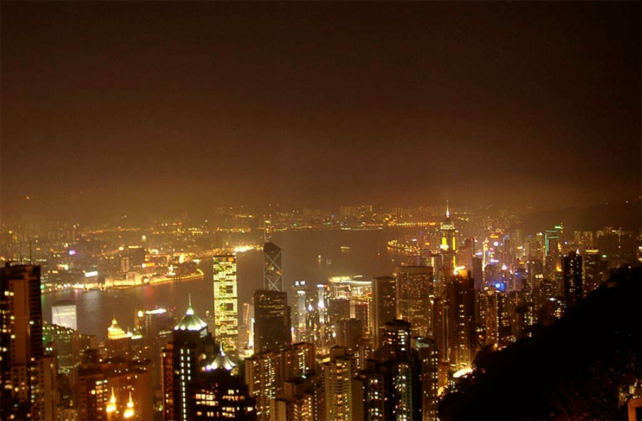 Η παγκόσμια φωτορύπανση έχει αυξηθεί σημαντικά τα τελευταία χρόνια