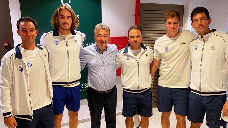 Στ. Αρναουτάκης: «Διεκδικούμε το όνειρο μαζί σας. Είμαστε κοντά στην Εθνική Ομάδα Τένις»