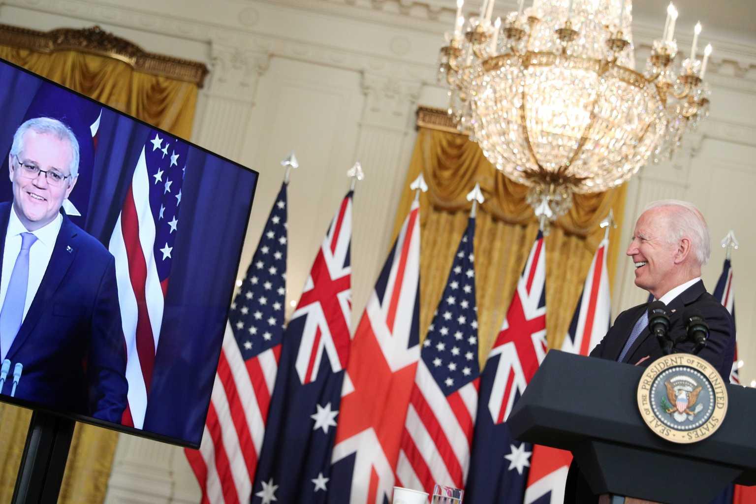 Ο Τζο Μπάιντεν ξέχασε το όνομα του πρωθυπουργού της Αυστραλίας: «Αυτός ο τύπος εκεί κάτω»