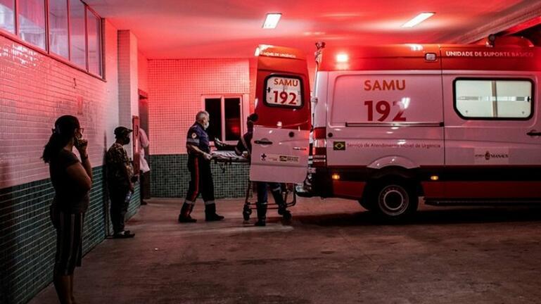 Βραζιλία: 676 θάνατοι, πάνω από 17.700 κρούσματα σε 24 ώρες