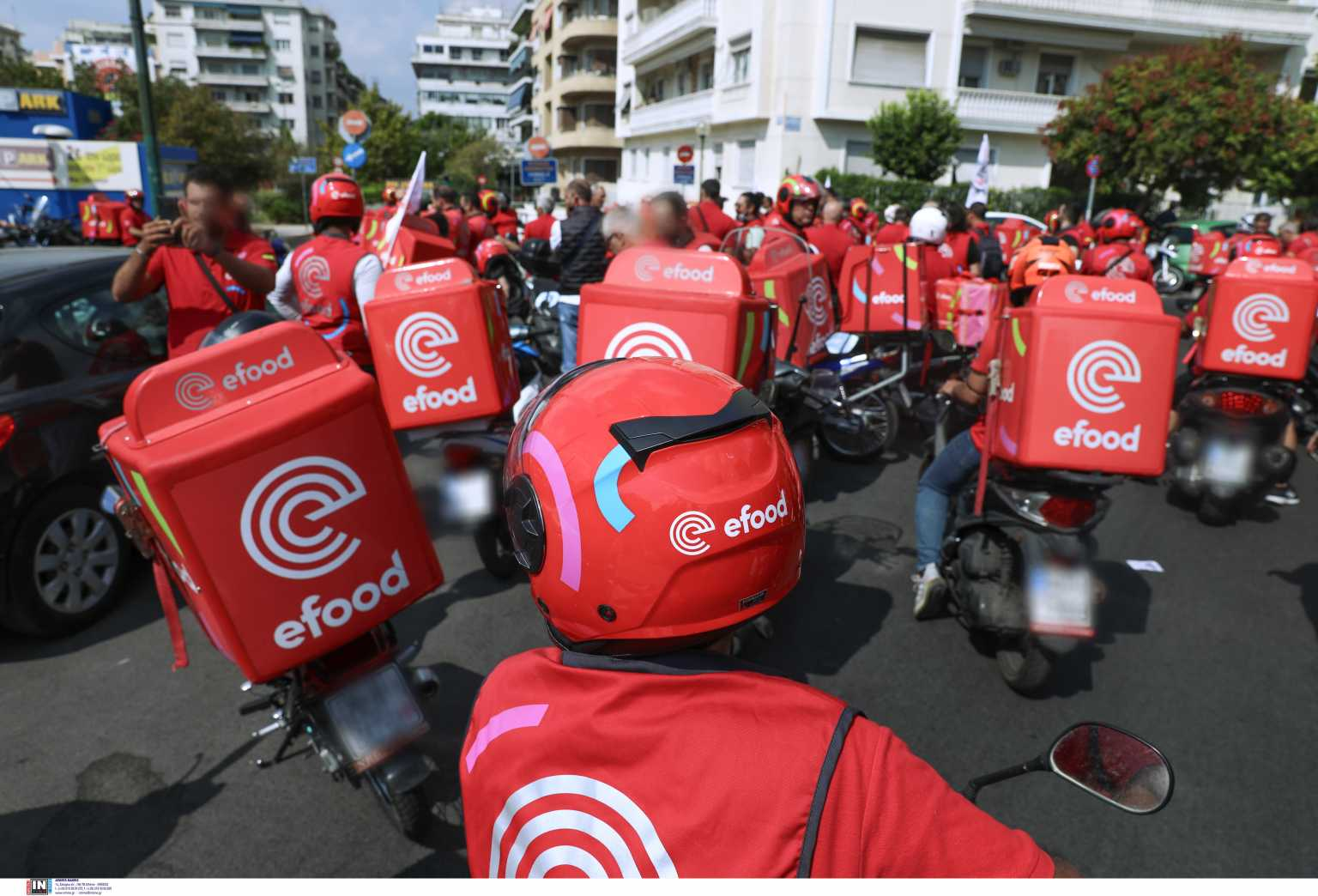 efood: Νέα απεργία των διανομέων την Παρασκευή – Επιστολή στον Κυριάκο Μητσοτάκη