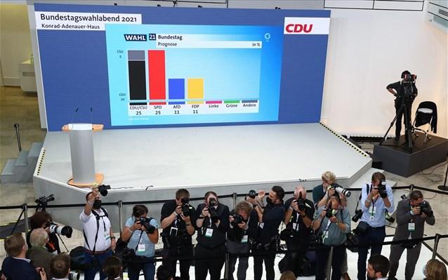 Γερμανία – εκλογές: Ισοπαλία Σοσιαλδημοκρατών – Χριστιανοδημοκρατών δείχνουν τα exit polls Στο 25%