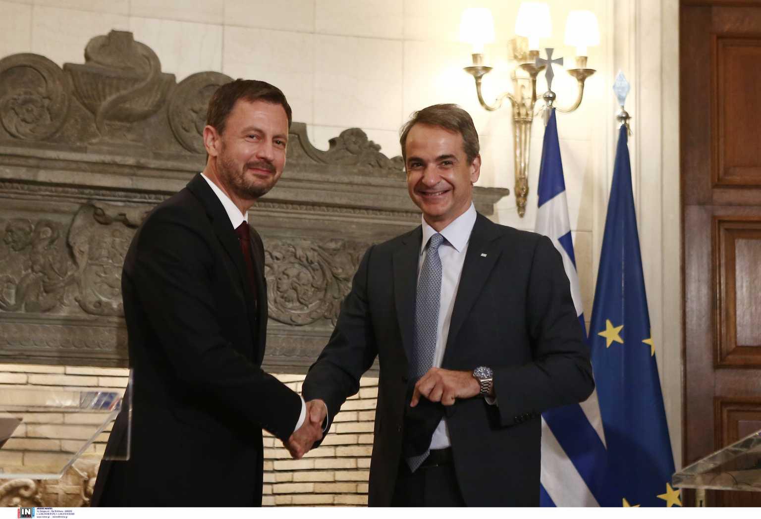 Κυριάκος Μητσοτάκης: Ελλάδα και Σλοβακία μπορούν να αναβαθμίσουν τους αμυντικούς και διπλωματικούς τους δεσμούς