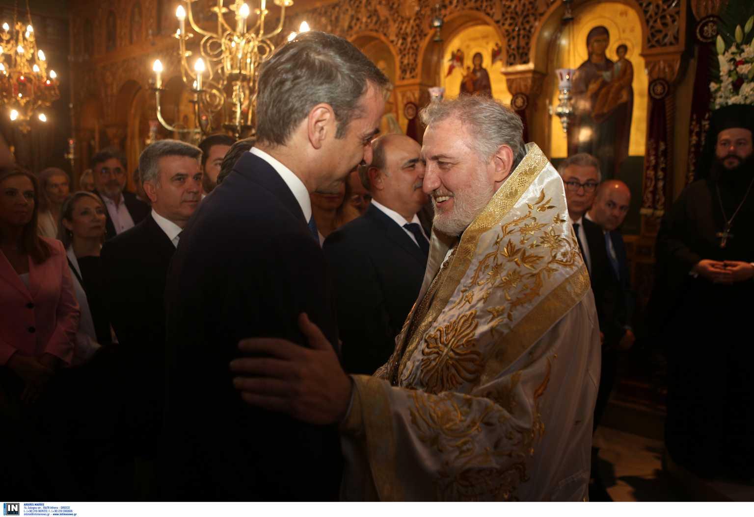 Συνάντηση Κυριάκου Μητσοτάκη – Αρχιεπίσκοπου Ελπιδοφόρου στις 20:00