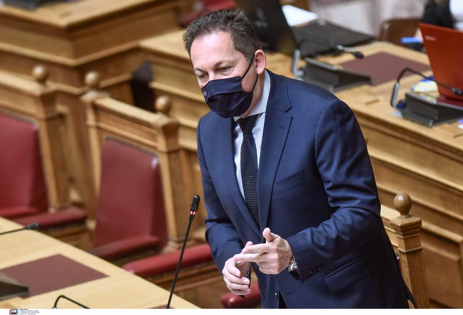 Στέλιος Πέτσας: Ένταση στην Βουλή με Κυριάκο Βελόπουλο και Γιάννη Ραγκούση