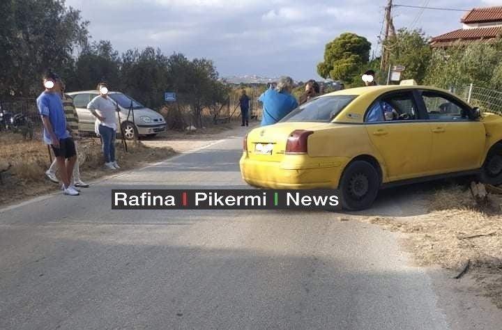 Σπάτα – Οδηγός ταξί υπέστη ανακοπή και έπεσε σε κολώνα