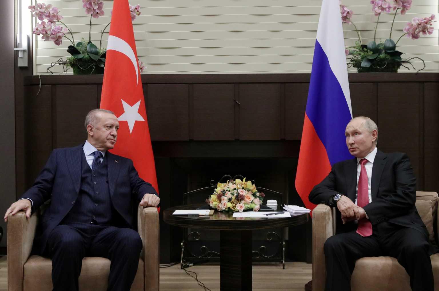 Βλαντίμιρ Πούτιν – Ταγίπ Ερντογάν: Σιγή ιχθύος για τους S-400 μετά την τρίωρη συνάντηση