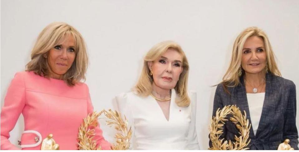 Στην Αθήνα και η Μπριζίτ Μακρόν: Μαζί με την Μαρέβα Μητσοτάκη και την Μ. Βαρδινογιάννη στην Ογκολογική Μονάδα Παίδων «Ελπίδα» [εικόνες]