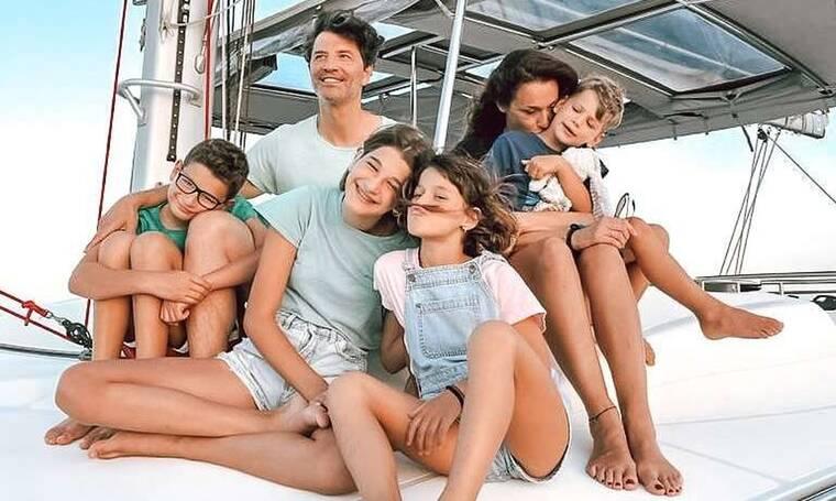 Σάκης Ρουβάς: Η καθημερινότητα με την οικογένειά του στον Νέο Βουτζά