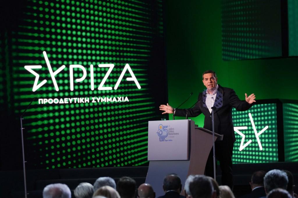 Ο Αλέξης Τσίπρας έντυσε τον ΣΥΡΙΖΑ στα… πράσινα