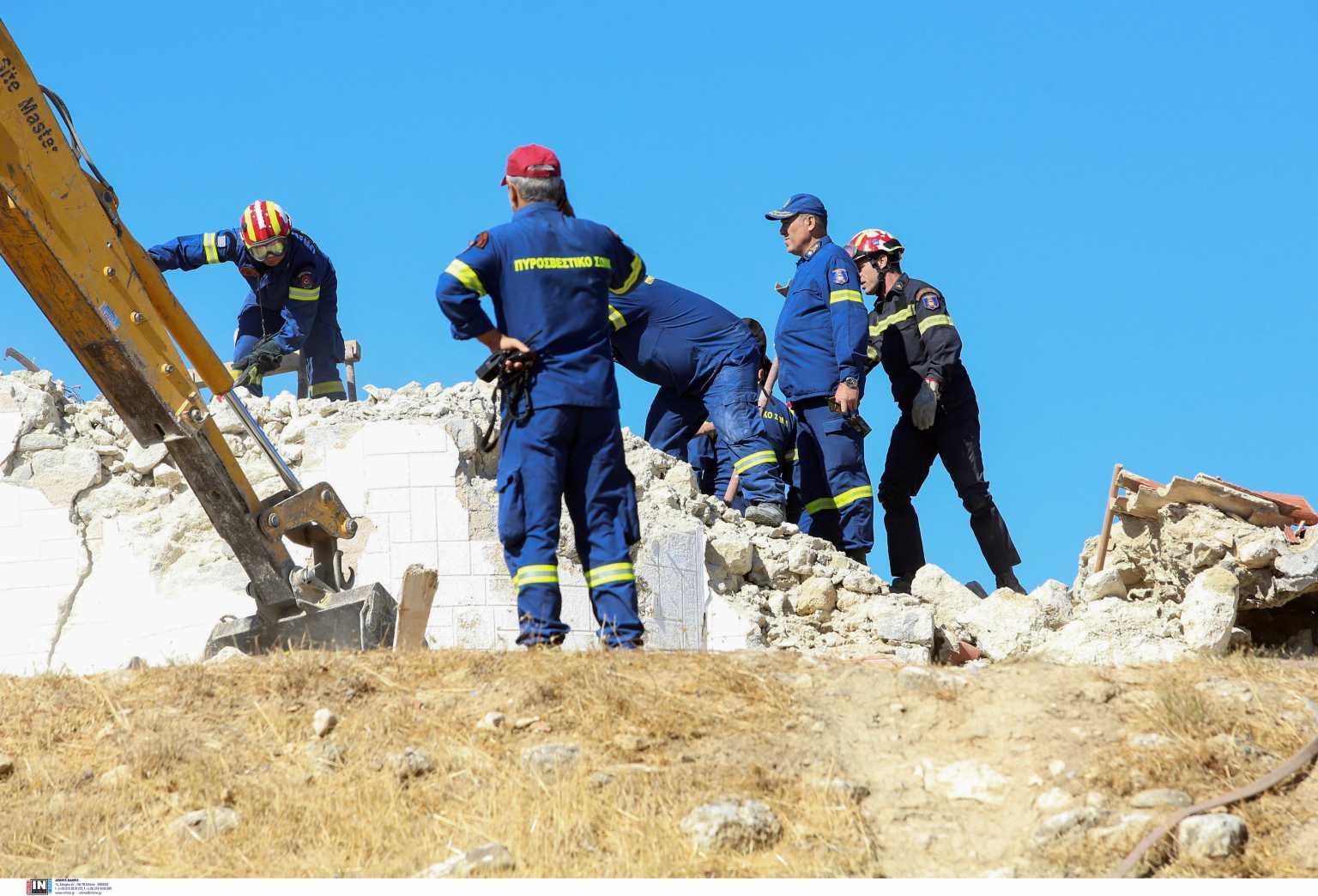 Σεισμός στην Κρήτη: Ο γιος είδε τον πατέρα του να πεθαίνει μπροστά στα μάτια του