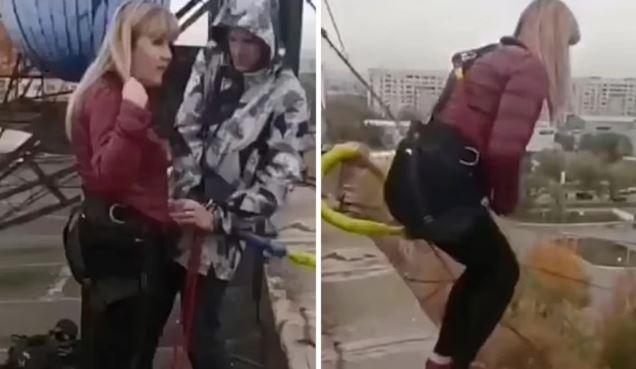 Βουτιά θανάτου για μητέρα από τα 25 μέτρα – Ήθελε να κάνει πτώση αλά bungee jumping και το σκοινί δεν άντεξε