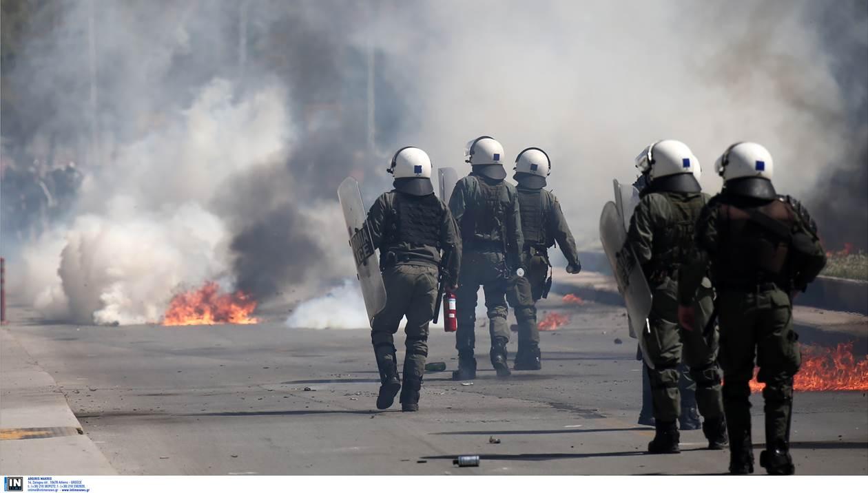 Ομόνοια: Ένταση στο αντιφασιστικό συλλαλητήριο