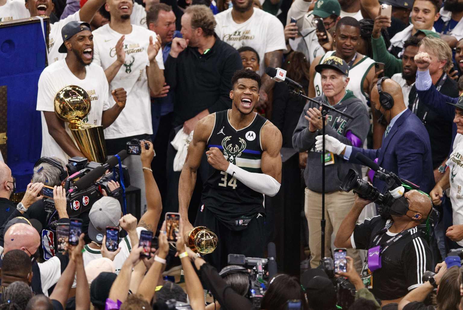 NBA: Με Γιάννη Αντετοκούνμπο οι 75 καλύτεροι παίκτες στην ιστορία της διοργάνωσης