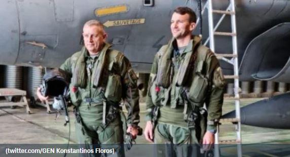 O αρχηγός ΓΕΕΘΑ Κωνσταντίνος Φλώρος σε πτήση με Rafale – «Δεν περιγράφεται το δέος»