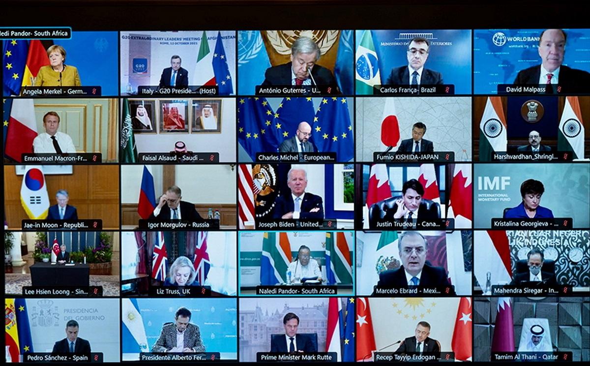 G20: Οι ηγέτες συμφώνησαν να παρέχουν ανθρωπιστική βοήθεια στο Αφγανιστάν