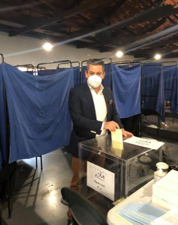 Πρώτος σε ψήφους αναδέχτηκε ο Κώστας Δημ. Γιαννουλάκης